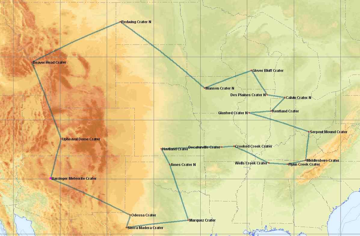 Map of IFR Adventure Trip #29
