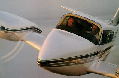 Small Twin Engine Aircraft
